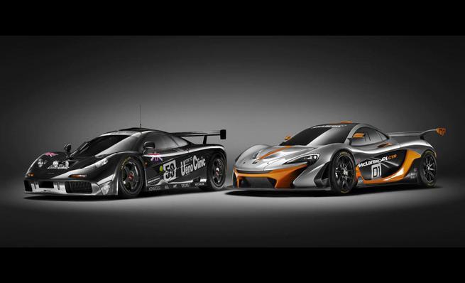 McLaren P1 GTR: Programa