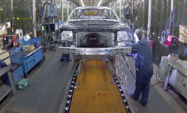 Proceso de fabricación del Challenger Hellcat