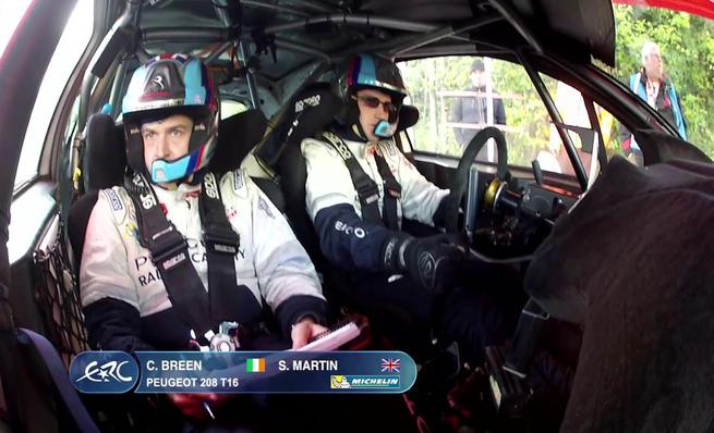 On Board Craig Breen - SS2 Rally du Valais 2014