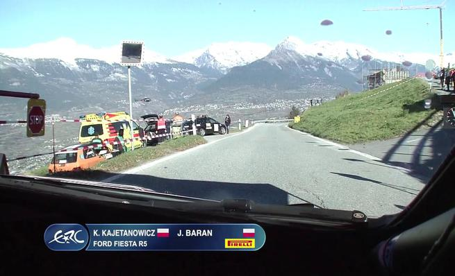 On Board Kajetan Kajetanowicz - SS6 Rally du Valais 2014