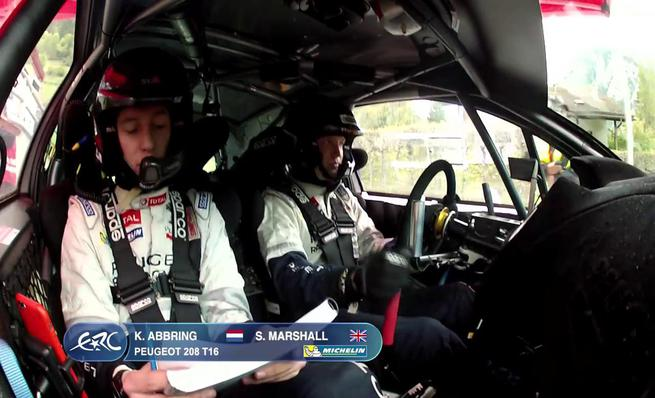 On Board Kevin Abbring - SS13 Rally du Valais 2014