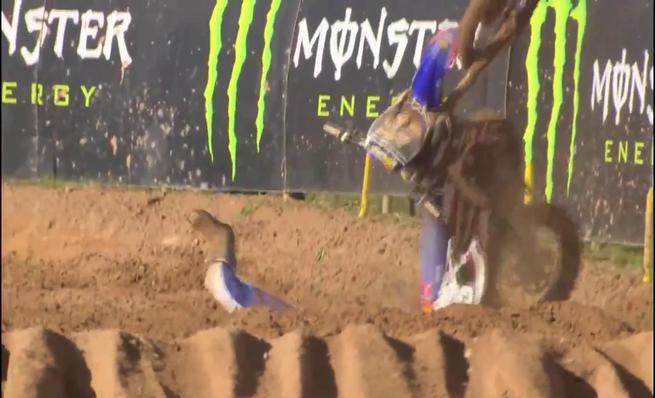 Los accidentes más grandes del Motocross de las Naciones 2014