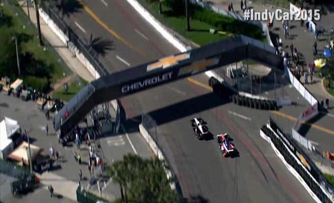 Resumen del calendario de 2015 de las IndyCar Series