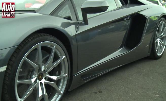 Drag Race: Lamborghini Aventador vs McLaren 650S