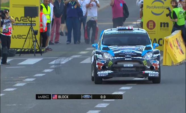 On Board Ken Block - SS01 Rally RACC de Catalunya 2014