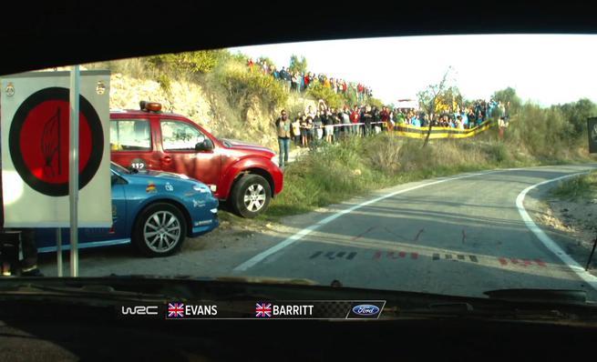 On Board Elfyn Evans - SS08 Rally RACC de Catalunya 2014