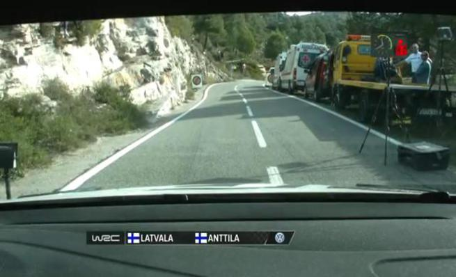 On Board Jari-Matti Latvala - SS10 Rally RACC de Catalunya 2014