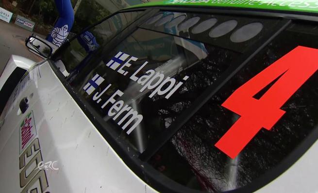 On Board Esapekka Lappi - QS Tour de Corse 2014