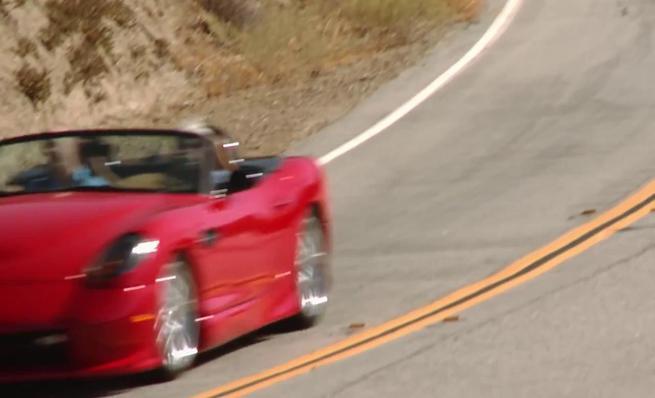Jay Leno's Garage: Panoz Esperante GT Spyder prototype
