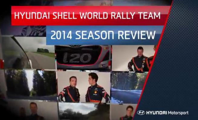 Resumen de la temporada 2014 del WRC por Hyundai Motorsport