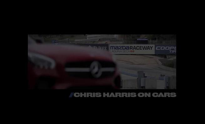Chris Harris prueba el Mercedes AMG GT S