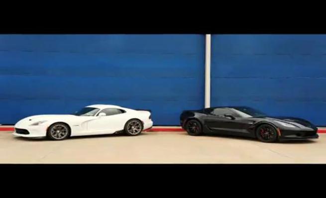 Dodge SRT Viper TA vs Chevrolet Corvette Z06