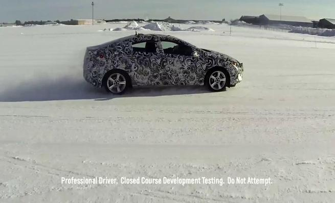 Chevrolet Volt 2016 extreme cold test