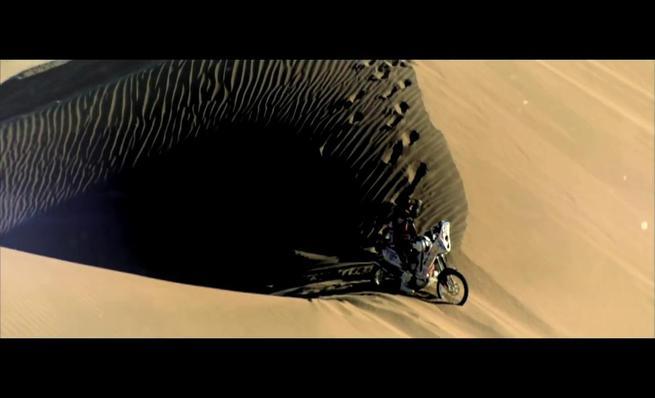 Teaser oficial del Dakar 2015