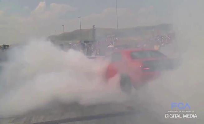 Colección de burnouts Dodge SRT Hellcat