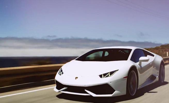 Lamborghini Huracán LP 610-4 test