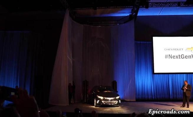 Presentación corta del nuevo Chevrolet Volt en el CES 2015