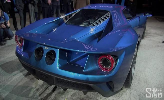 Sonido de arranque Ford GT