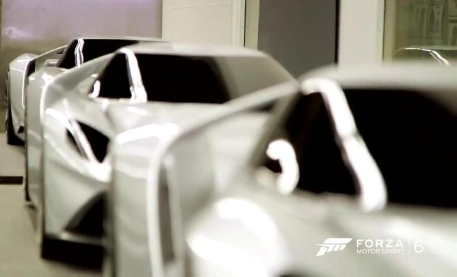 Forza 6: Behind the scenes Ford GT