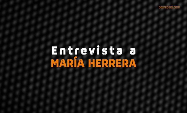 María Herrera en el Mundial de Moto3 con Husqvarna