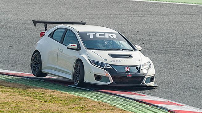 Shakedown del Honda Civic TCR