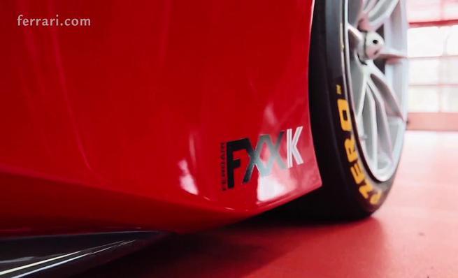 Sebastian Vettel a bordo del FXX K en Fiorano