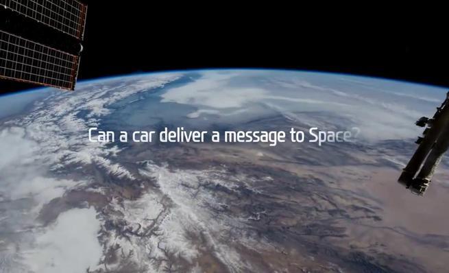 Hyundai envía un mensaje al espacio