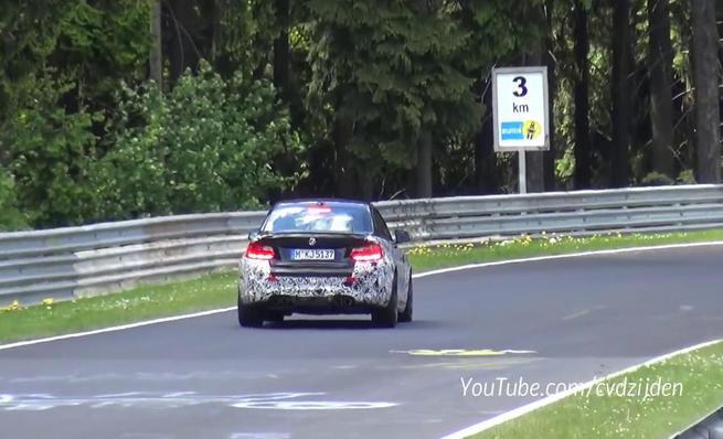 BMW M2 rodando en Nürburgring
