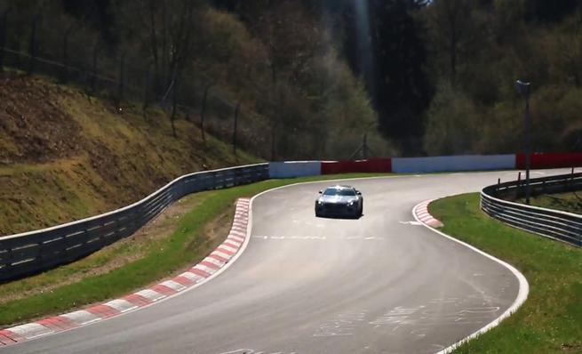 Mercedes AMG GT Black Series prototype