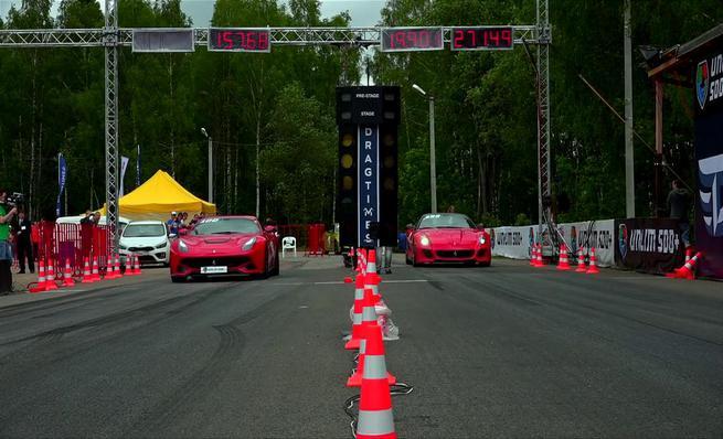 Ferrari F12 vs Ferrari 599 GTO