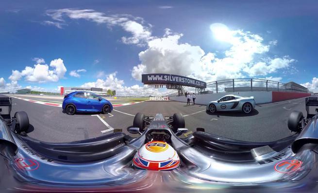 McLaren Honda Esso #FuelYourSenses VR experience