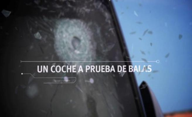 Blindaje del Seat León de la policía italiana