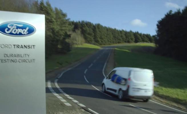 Ford Transit Connect: Porque SI hacen test de durabilidad