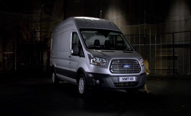 Ford Transit: Superficie de carga fácil de limpiar