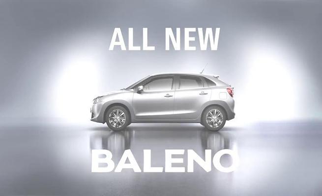 Teaser Suzuki Baleno 2016