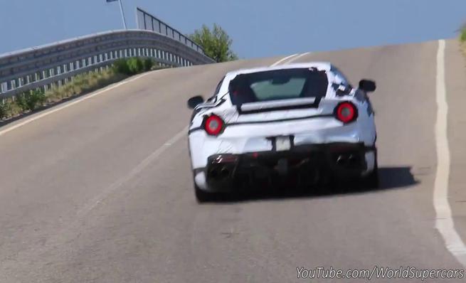 Ferrari F12 GTO-Speciale cazado en pruebas