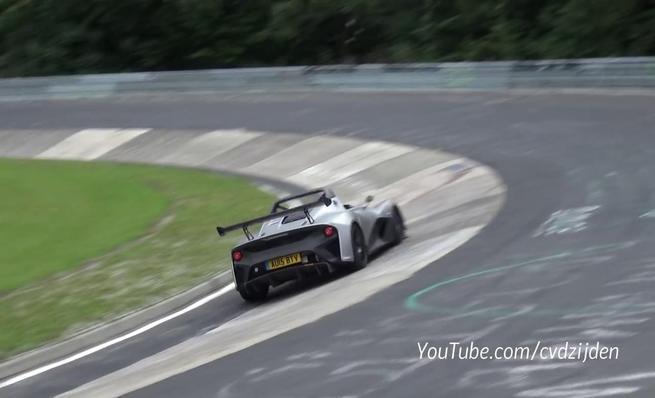 Lotus 3-Eleven en Nürburgring