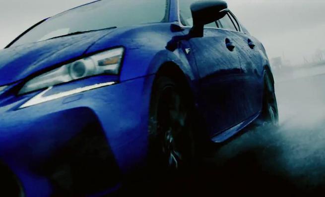 Lexus GS F en Fuji