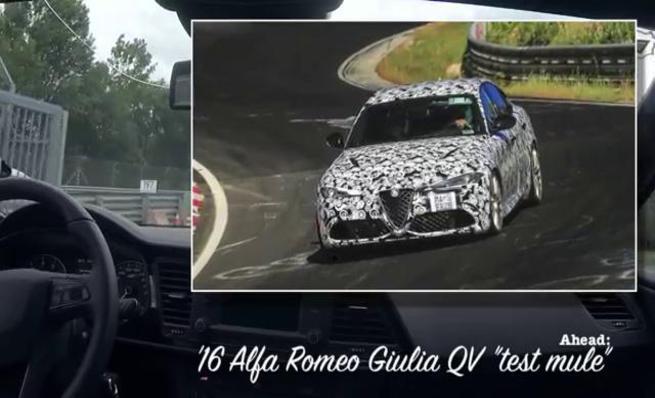 Alfa Romeo Giulia QV Vs. Seat León ST Cupra en Nürburgring