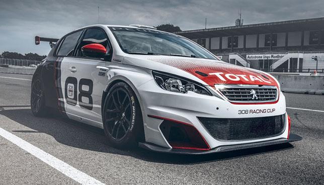 El nuevo Peugeot 308 Racing Cup