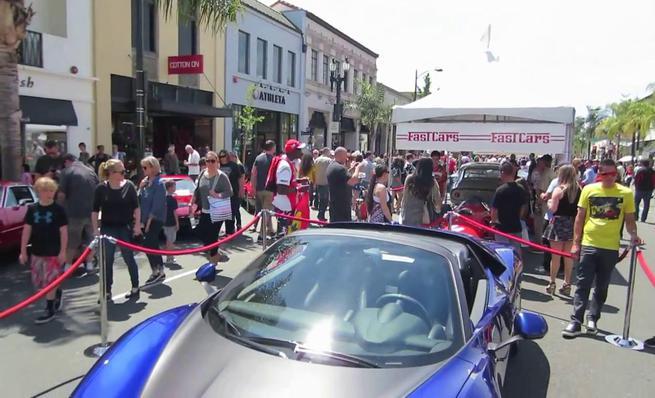 Ferrari Pininfarina Sergio en Monterey 2015