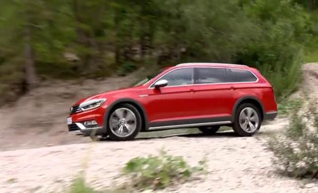 El nuevo Volkswagen Passat Alltrack en acción