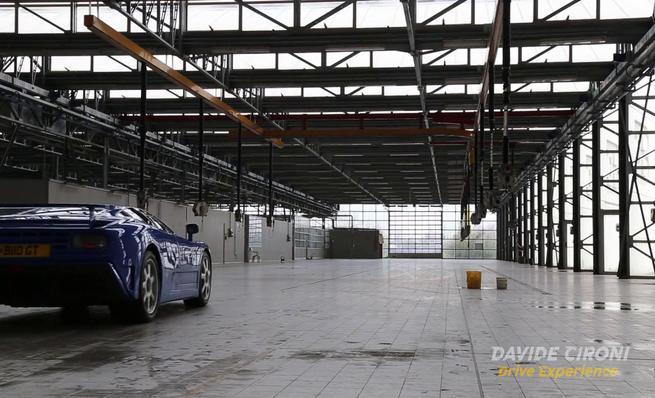 Bugatti EB110 History