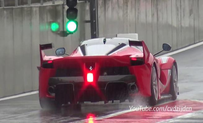 Ferrari FXX K en Spa Francorchamps