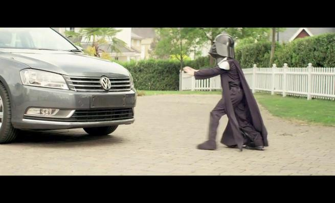 Greenpeace Star Wars Volkswagen