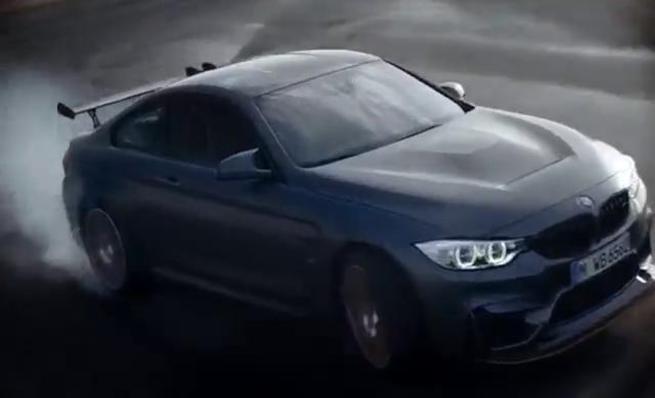 BMW M4 GTS. Drifteando en Nürburgring