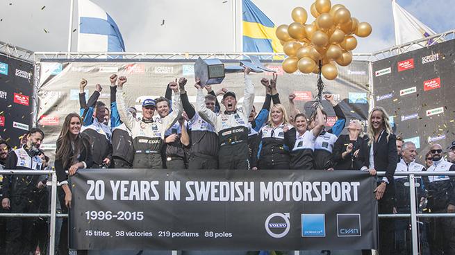 Vídeo: Thed Björk y Polestar Cyan Racing hacen historia en el STCC