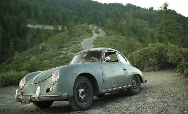 1956 Porsche 356 de Matt Hummel