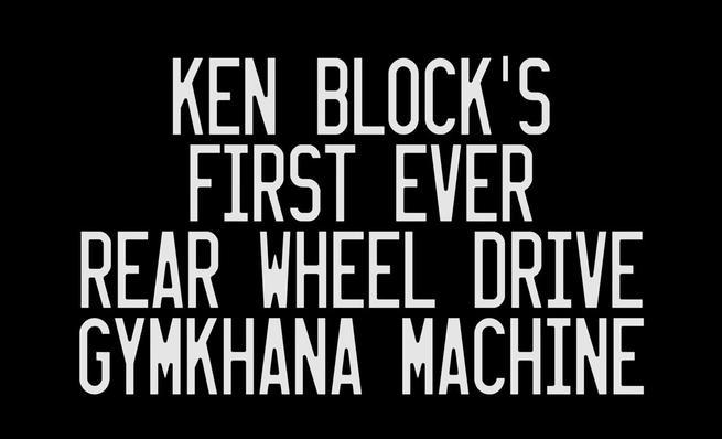 Ken Block Ford Escort mkII 1978