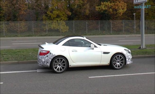 Primeras imágenes del Mercedes-Benz SLC